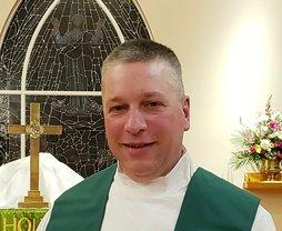 Headshot of Chaplain Boyer